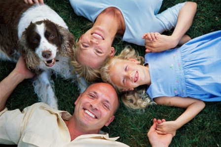 family white dog web